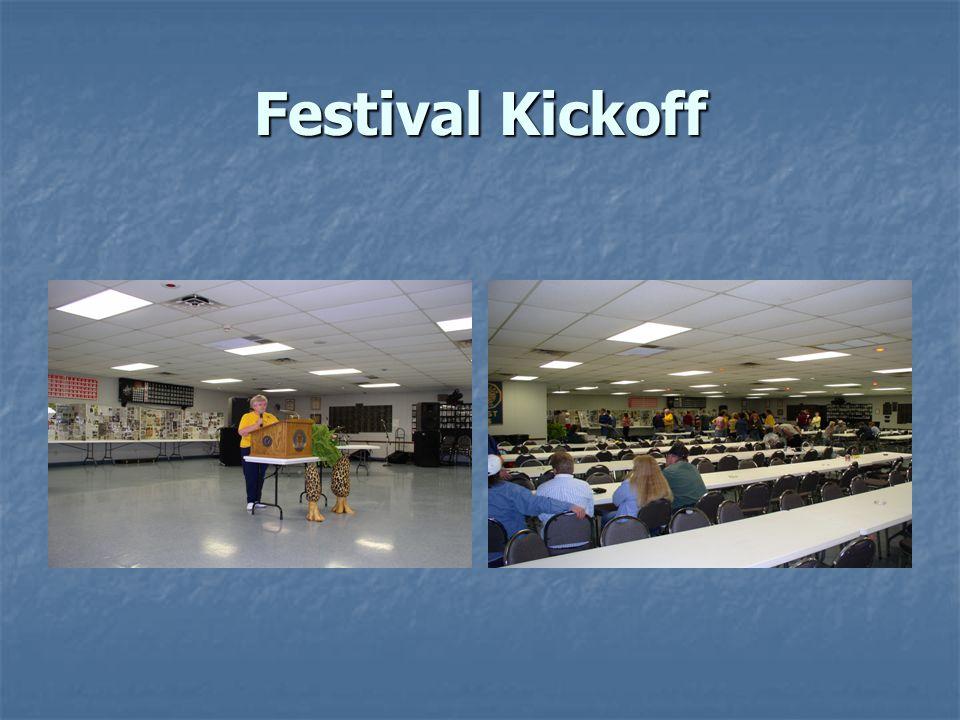 Festival Kickoff