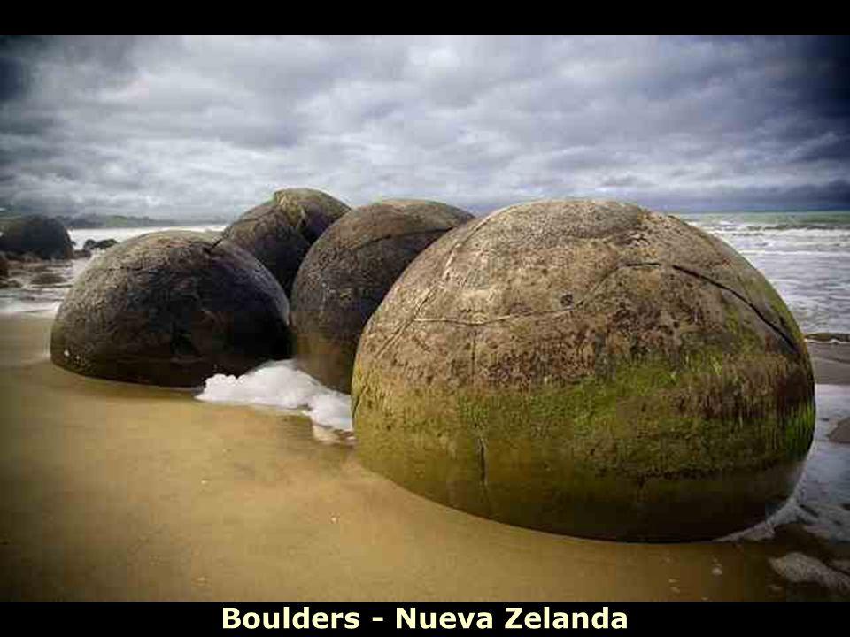 Boulders - Nueva Zelanda