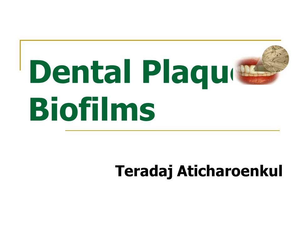 Dental Plaque Biofilms Teradaj Aticharoenkul