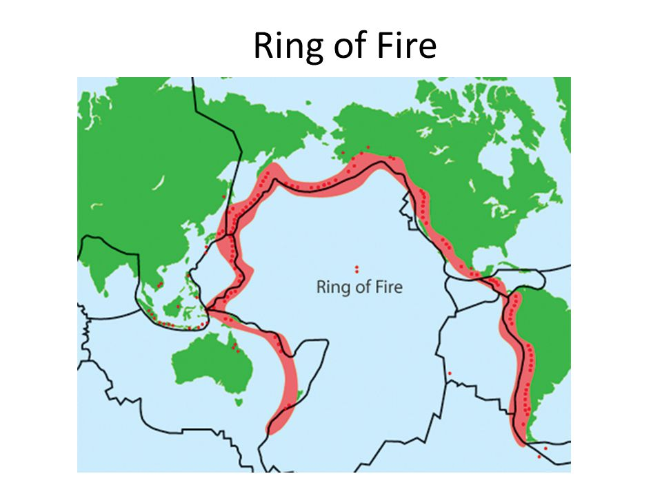 Volcanoes  Most volcanoes occur at convergent plate boundaries.