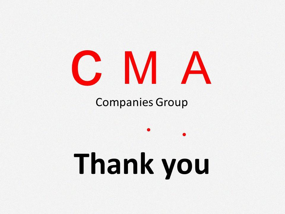 c MA Companies Group Thank you