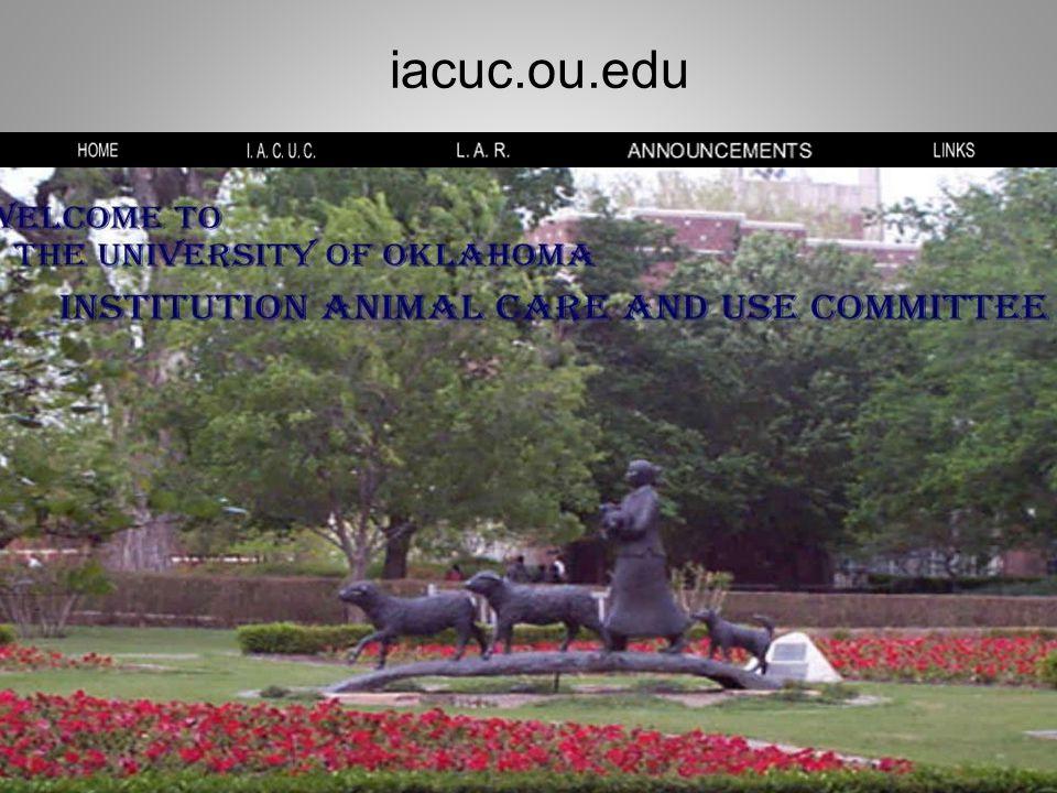 iacuc.ou.edu