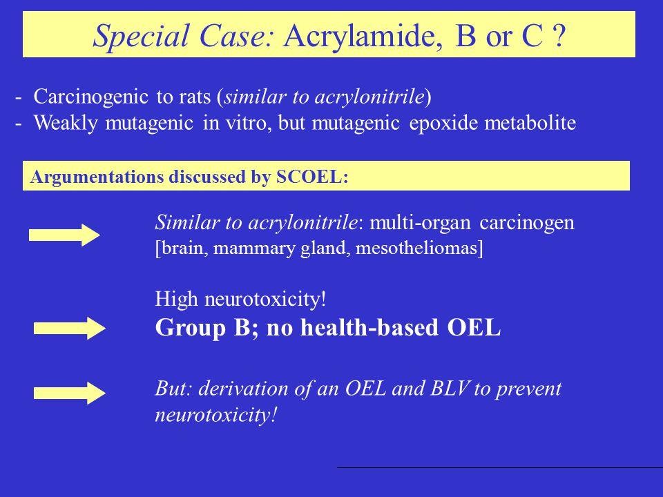 Case: Trichlorethylene, B oder C .