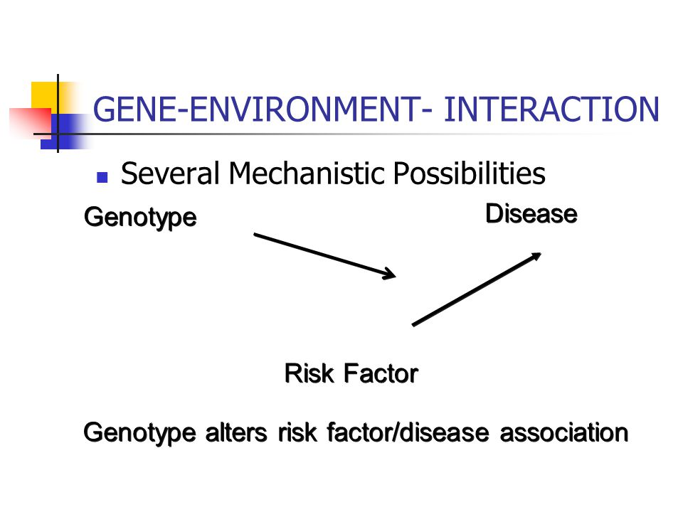 Influence gene expression