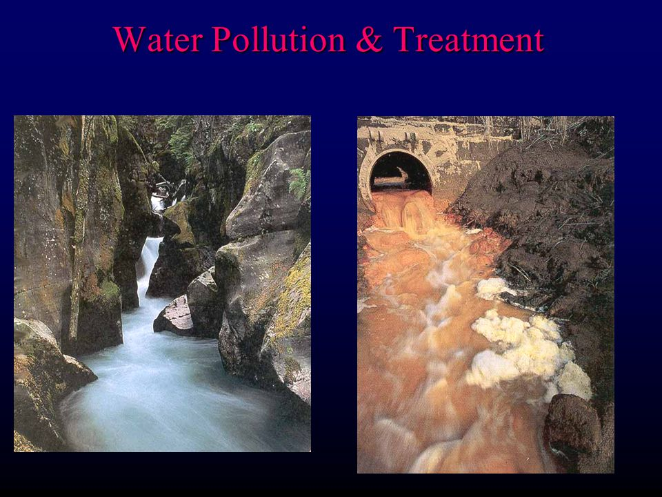 Pollution can affect both surface waters and groundwater ? Water Pollution & Treatment