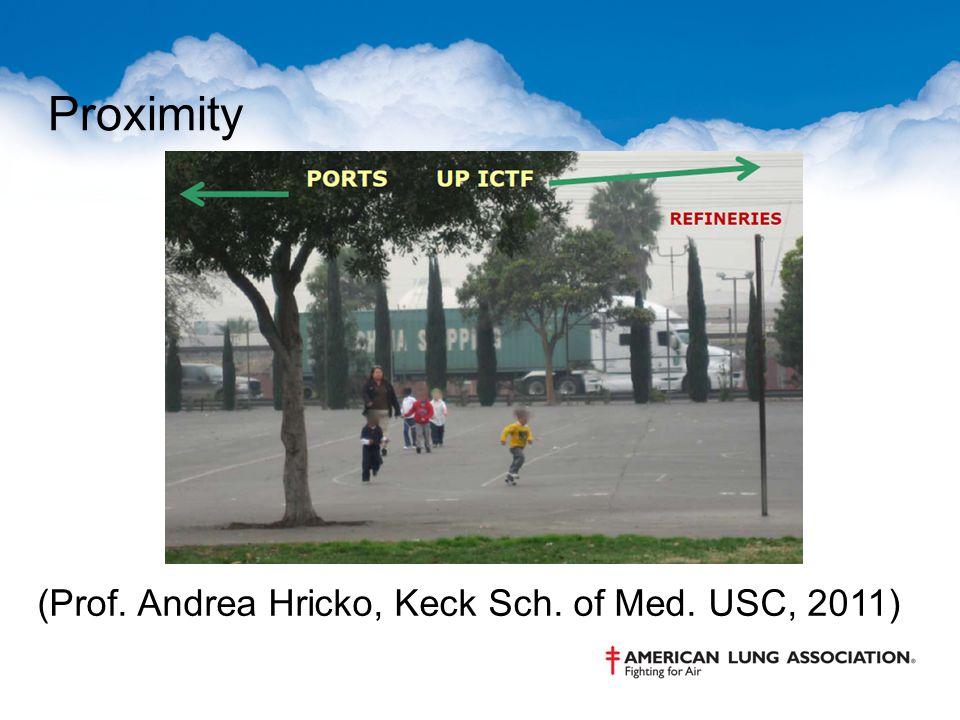 Proximity (Prof. Andrea Hricko, Keck Sch. of Med. USC, 2011)