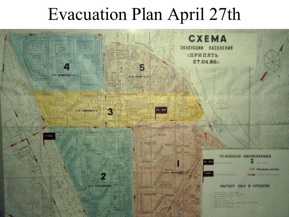 Evacuation Plan April 27th