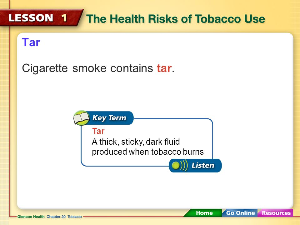 Poisonous Substances in Tobacco Smoke Tobacco is an addictive and toxic drug and a carcinogen. Carcinogen A cancer-causing substance