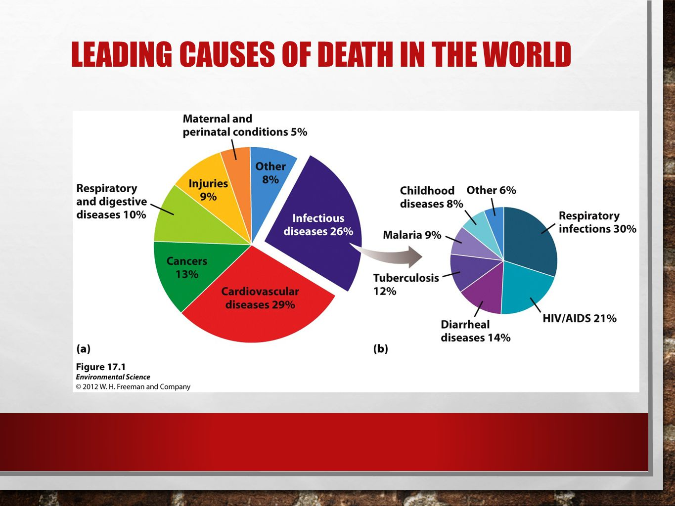 LEADING CAUSES OF DEATH IN THE WORLD