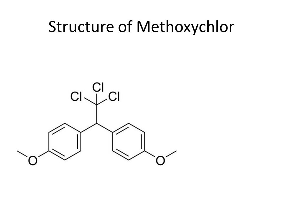 Structure of Methoxychlor