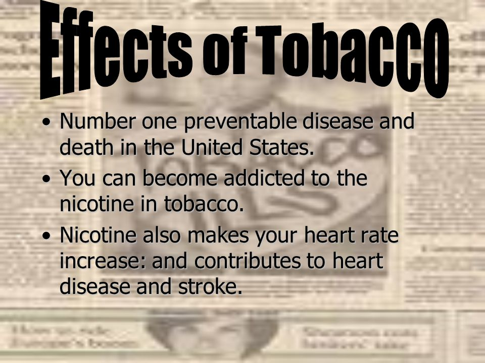 Smoke from burning tobacco is toxic.Smoke from burning tobacco is toxic.