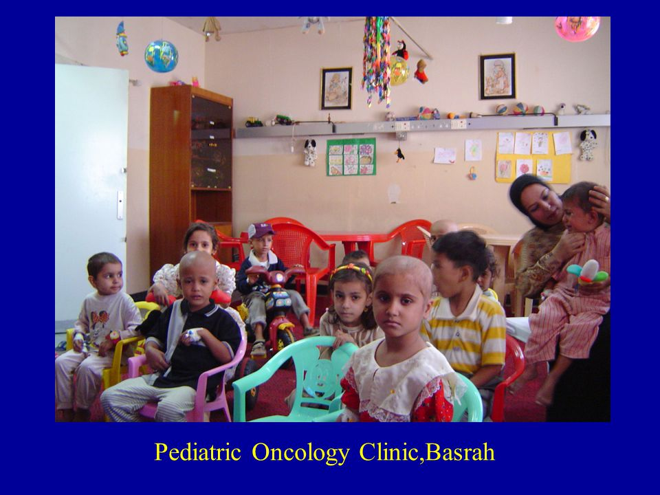 Pediatric Oncology Clinic,Basrah