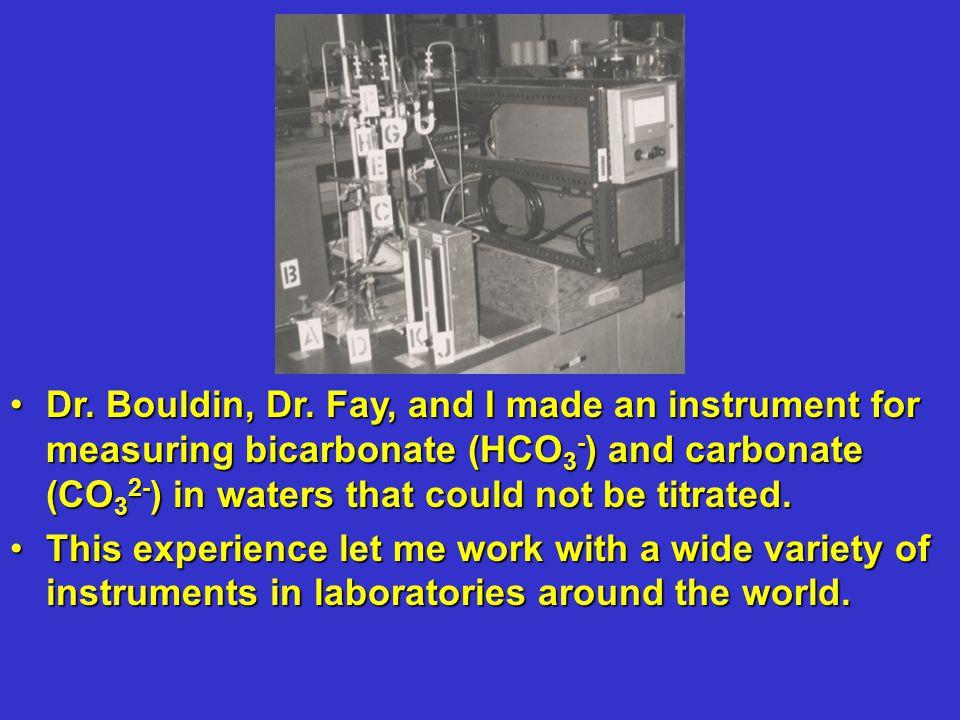 Dr. Bouldin, Dr.