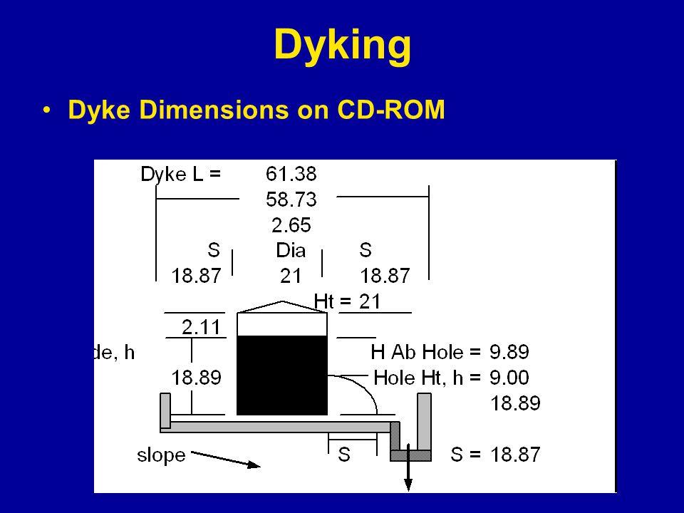 Dyking Dyke Dimensions on CD-ROM