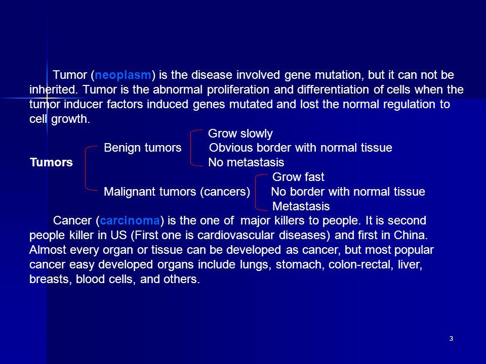 14 Cancer suppressor genes: Cancer suppressor gene is also called anti-cancer gene.