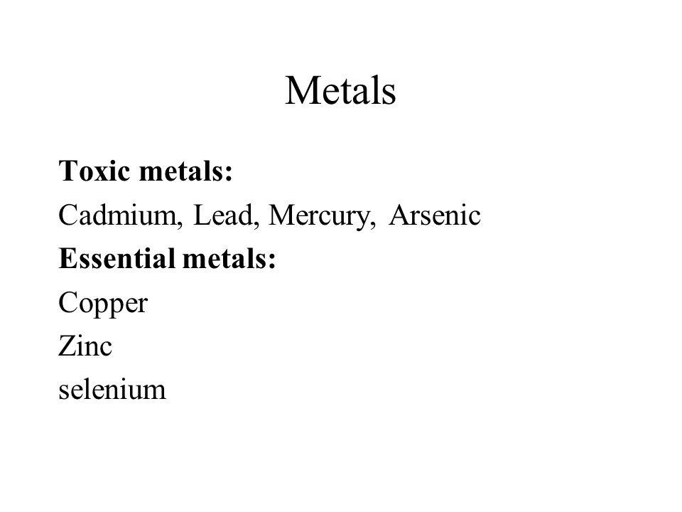 Mercury Elemental mercury vapor.