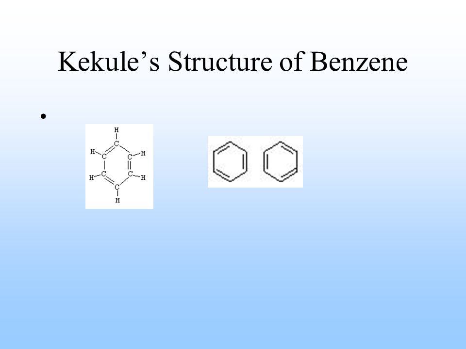 Kekule's Structure of Benzene