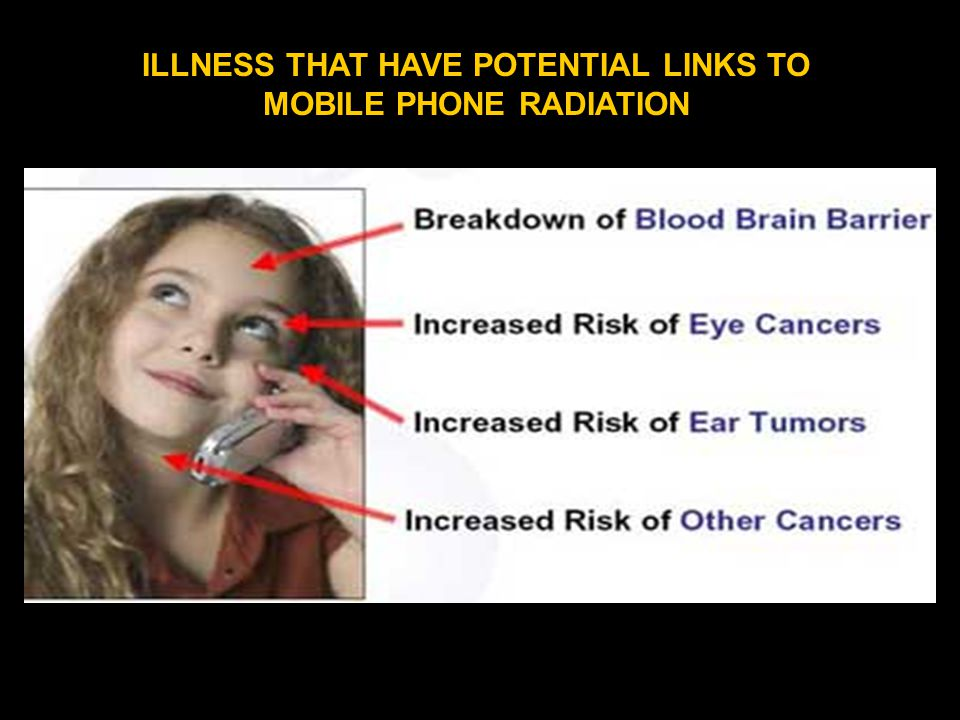 ILLNESS THAT HAVE POTENTIAL LINKS TO MOBILE PHONE RADIATION