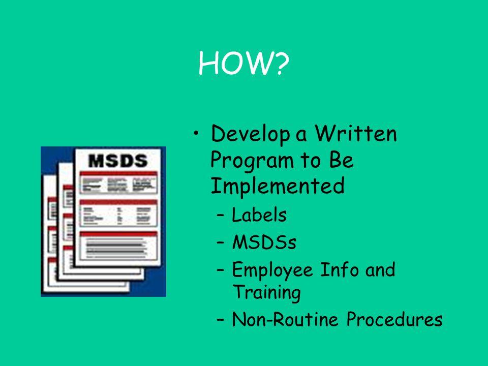 "STATS! OR-OSHA Citations For Ag HAZCOM written program, MSDS, List, Labels ""Safe Practices"""