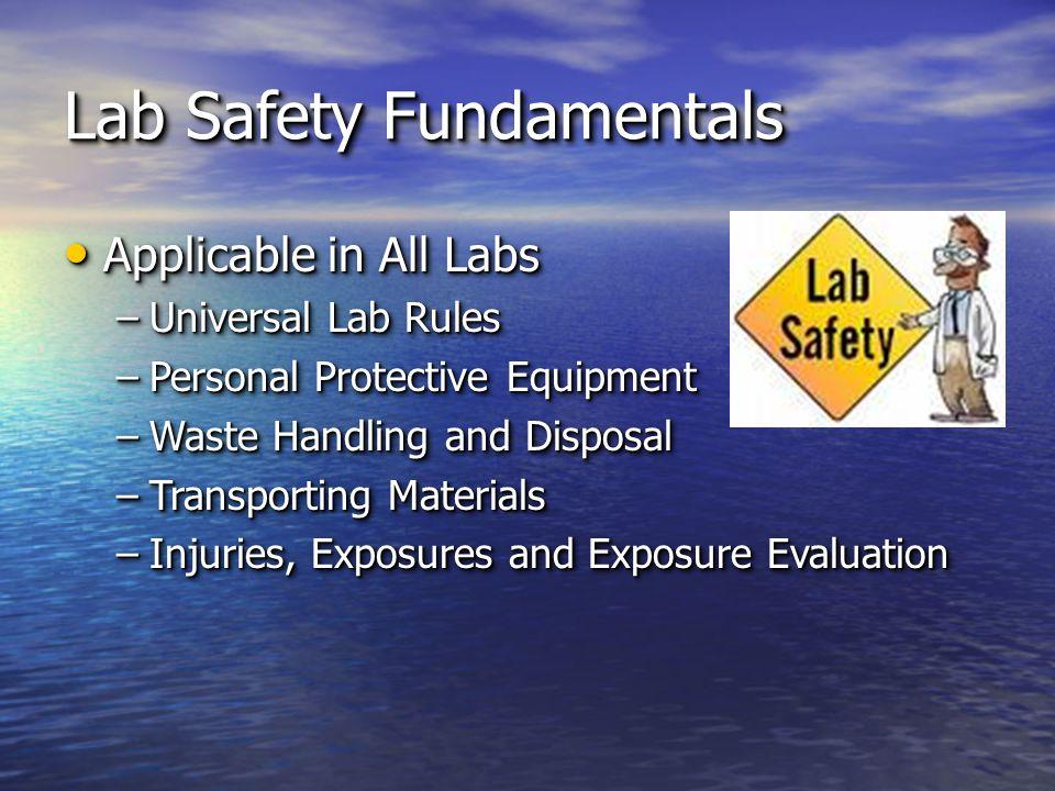 Other Hazards… Compressed Gases?.Compressed Gases?.