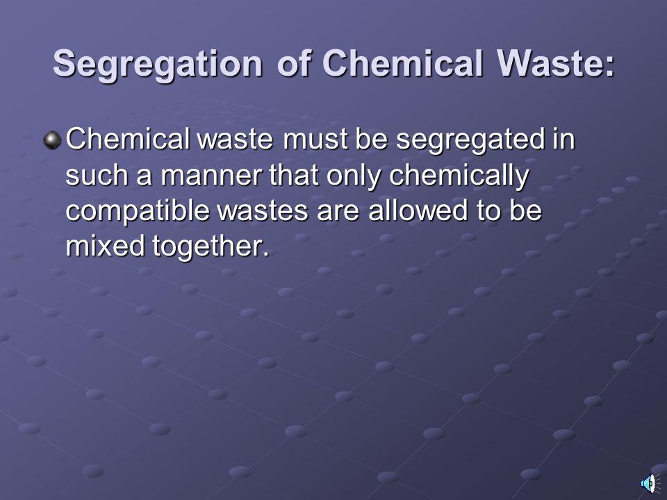 toxic metal-containing compounds used at WVU: Barium hydroxide Nickel chloride Cacodylic acid Osmium tetroxide Cadmium chlorid Potassium dichromate Ch