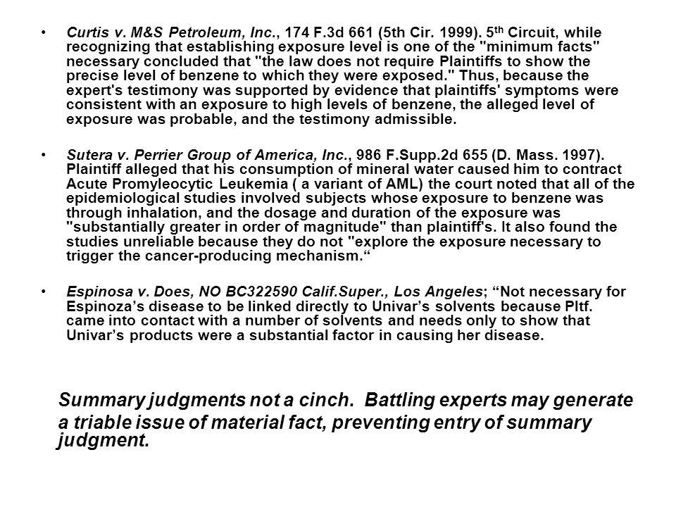 Curtis v. M&S Petroleum, Inc., 174 F.3d 661 (5th Cir.