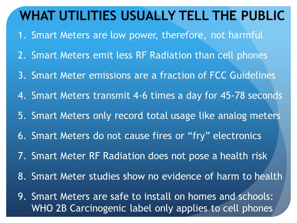 Functions of a Smart Meter Essentially a billing device Two-way communication (wireless relay) Meter can react to commands Change parameters remotely Remotely load new software More information collected (4 channels) Data collected in tiny snapshots of time (increments of 5-15 mins, sent 4-6 times/day) Also, send network messages every few seconds.