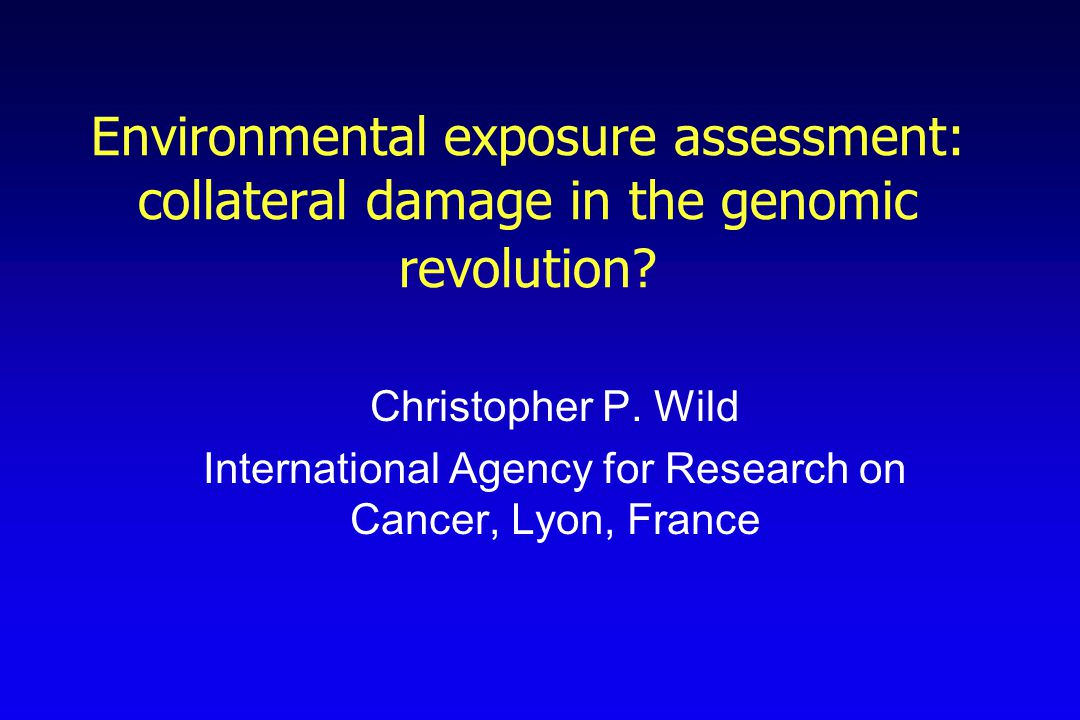 Biomarkers and Biological Plausibility Demonstration of exposure Evidence for a plausible mechanism