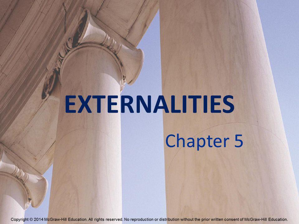 EXTERNALITIES Chapter 5