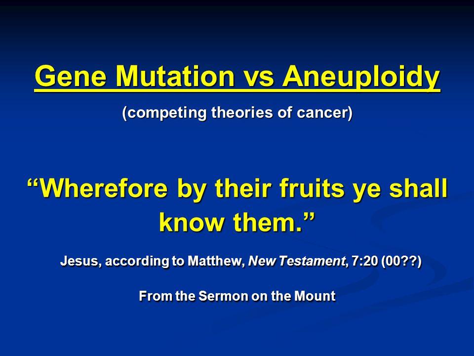 How Cancer Starts and Progresses 1 2 3 4 5 6 7 8 9 10 11 12 13 14 15 16 17 18 19 20 21 22 23 copies Mature Cancer (DNA index 1.7) (DNA index ≈ 1.7) 2 4 8 Chromosome Number