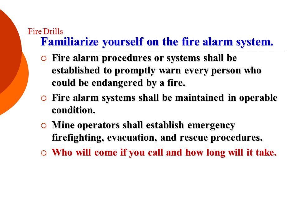 When are fire extinguishers to be examined.