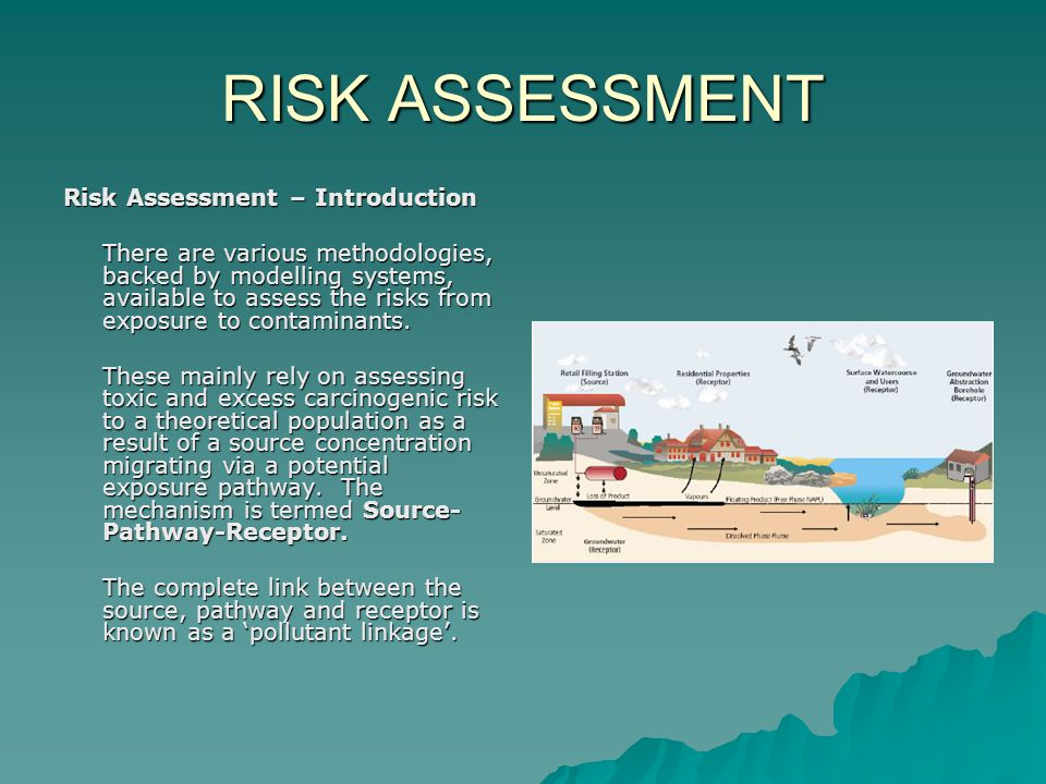 RISK ASSESSMENT Quantitative Risk Assessment: Tiers 2 & 3  The procedure for Tiers 2 and 3 is identical, but the populations are different.