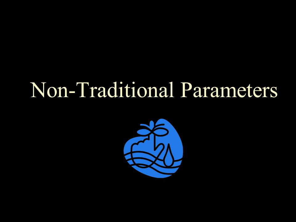 Non-Traditional Parameters