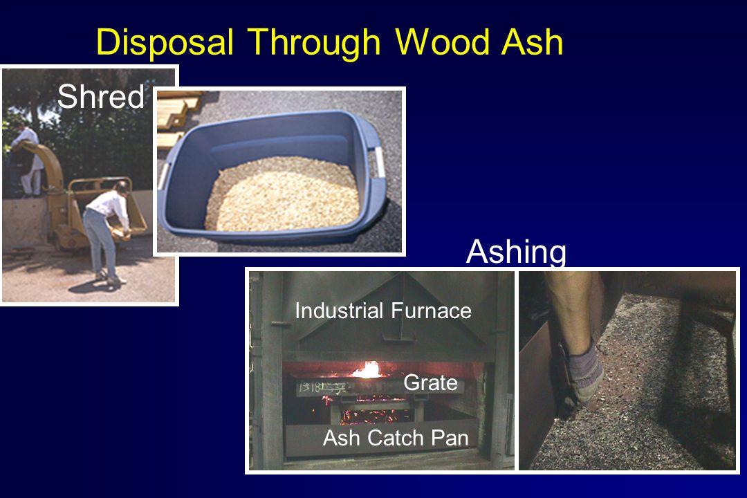 Disposal Through Wood Ash Industrial Furnace Grate Ash Catch Pan Shred Ashing