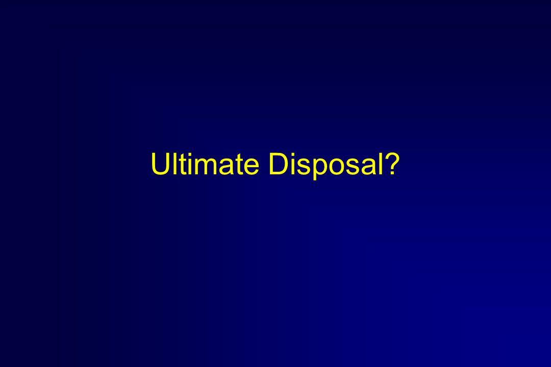 Ultimate Disposal