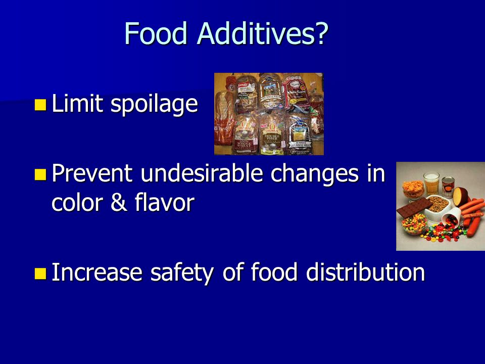 Food Additives.