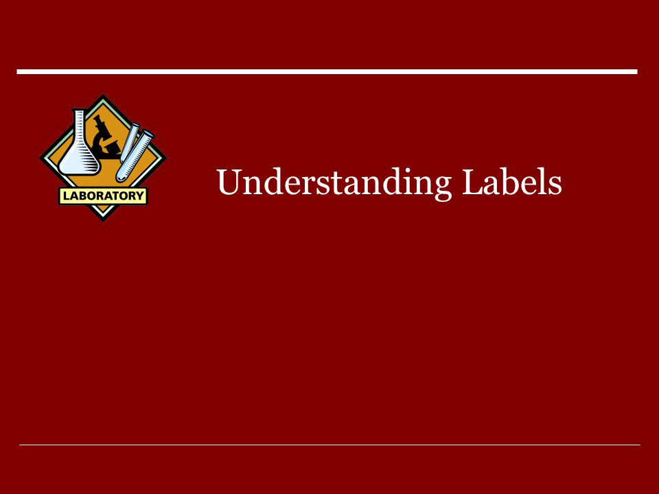 Understanding Labels