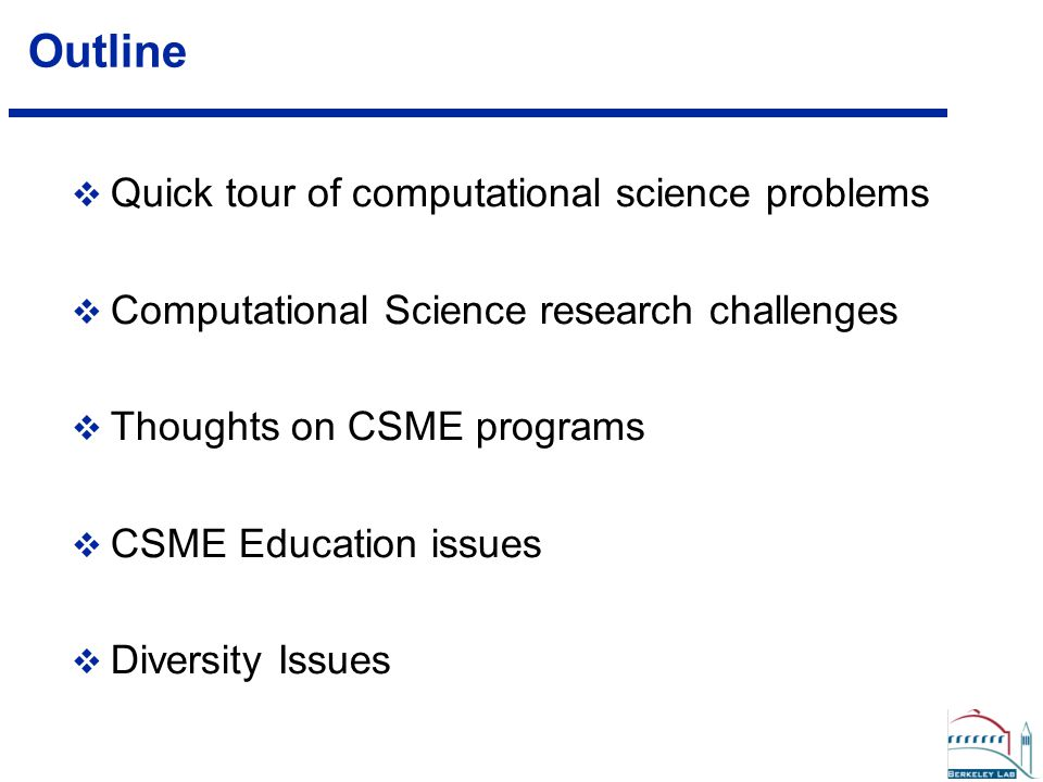 Communication, Communication, Communication  A CSE graduate is trained to communicate with and collaborate with an engineer or physicist and/or a computer scientist or mathematician to solve difficult practical problems. , SIAM Review, Vol 43, No.
