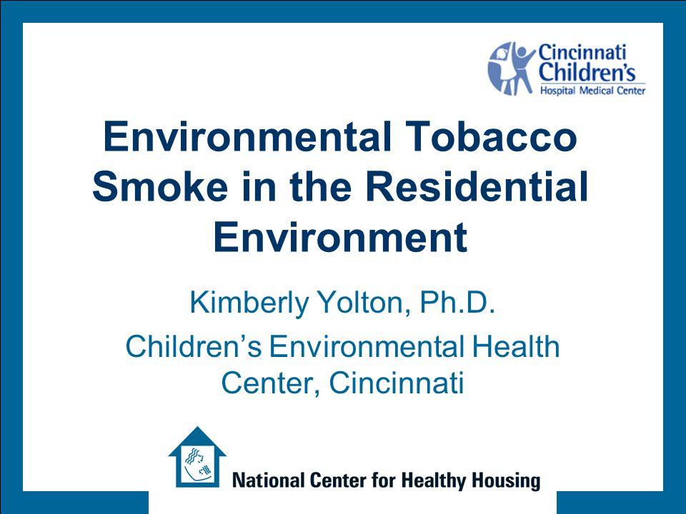 Tobacco Smoke Group A carcinogen Over 4000 chemicals 43 carcinogens including: benzene chromium cadmium polonium-210 formaldehyde