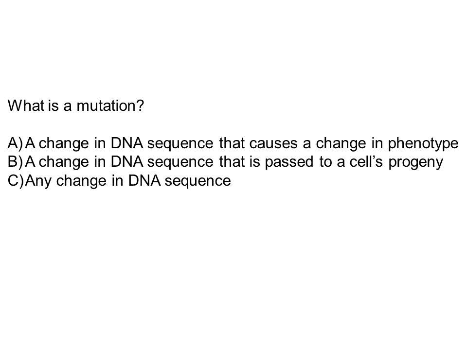 How do mutations arise.