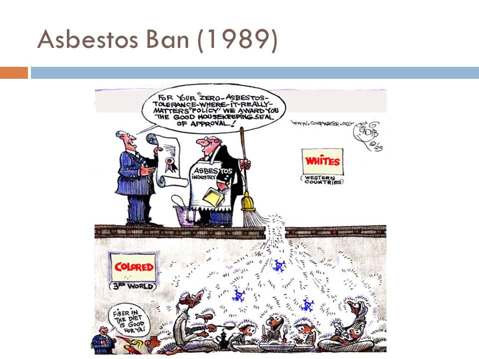 Asbestos Ban (1989)