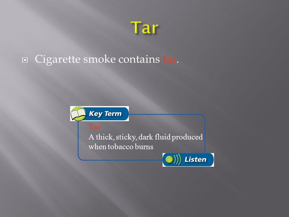  Tobacco is an addictive and toxic drug and a carcinogen. Carcinogen A cancer-causing substance