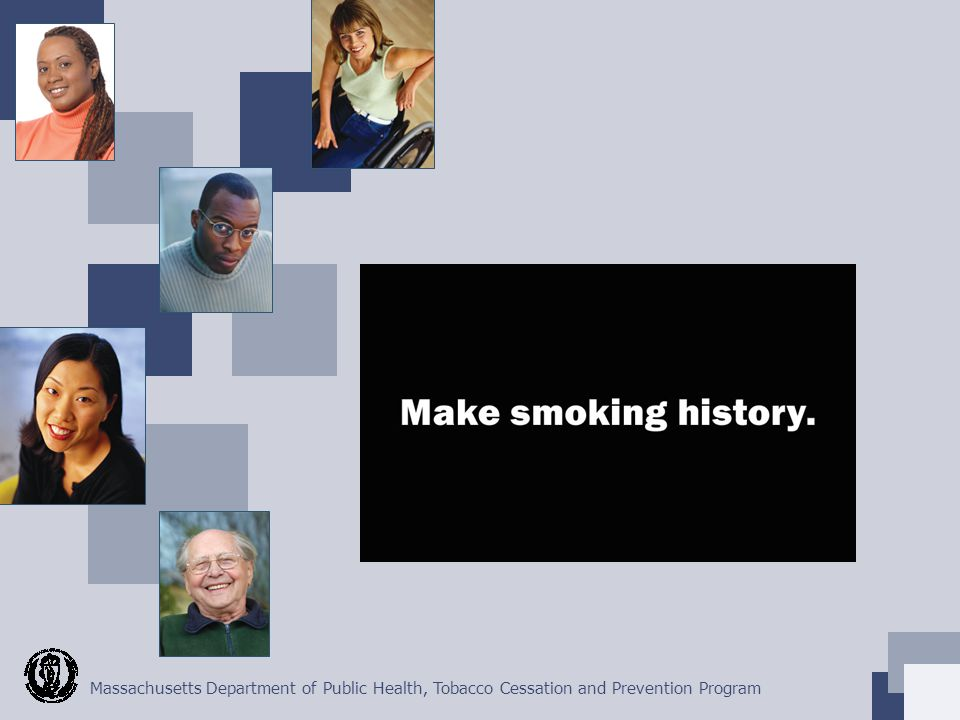 Massachusetts Department of Public Health, Tobacco Cessation and Prevention Program