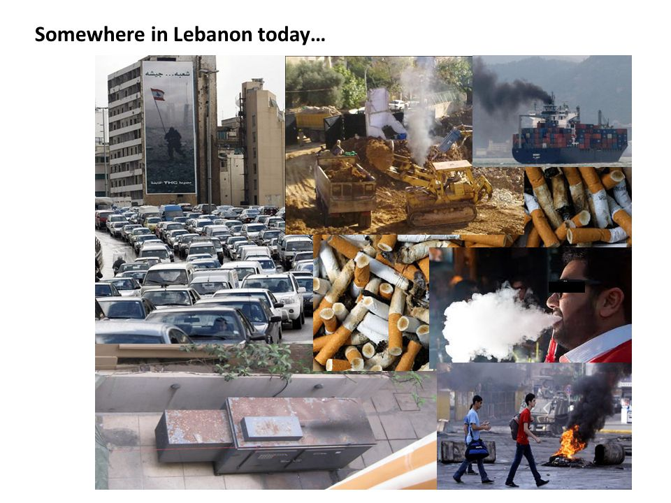 Somewhere in Lebanon today…