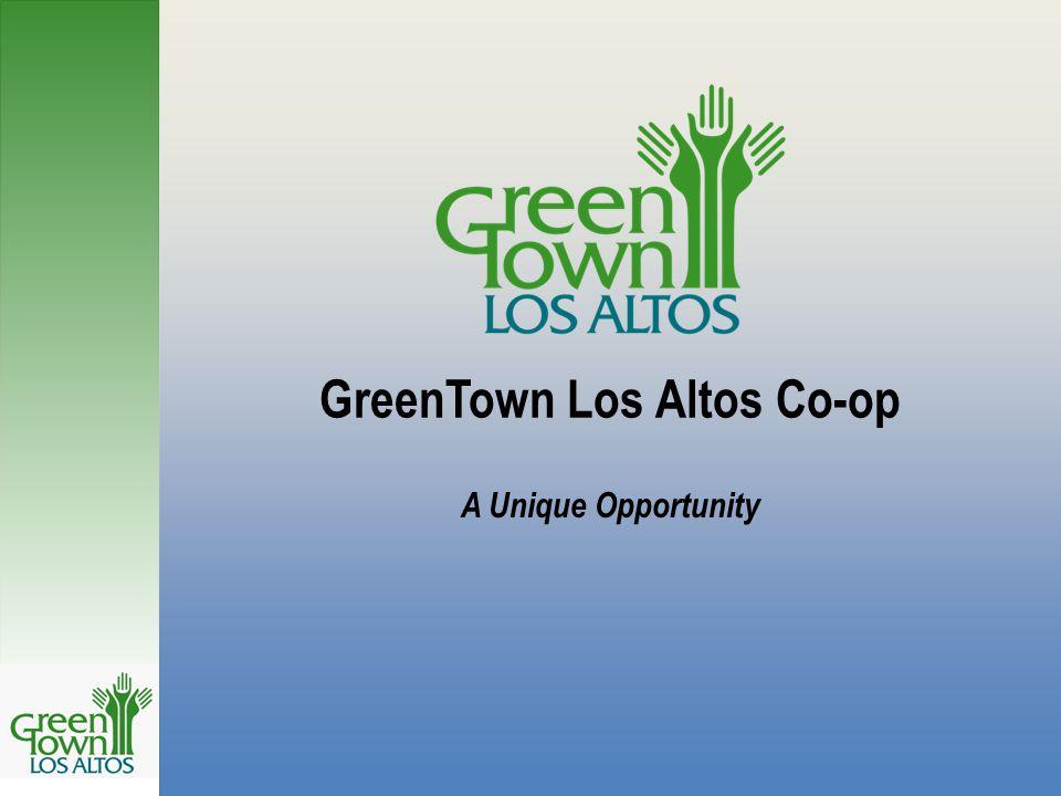 GreenTown Los Altos Co-op A Unique Opportunity