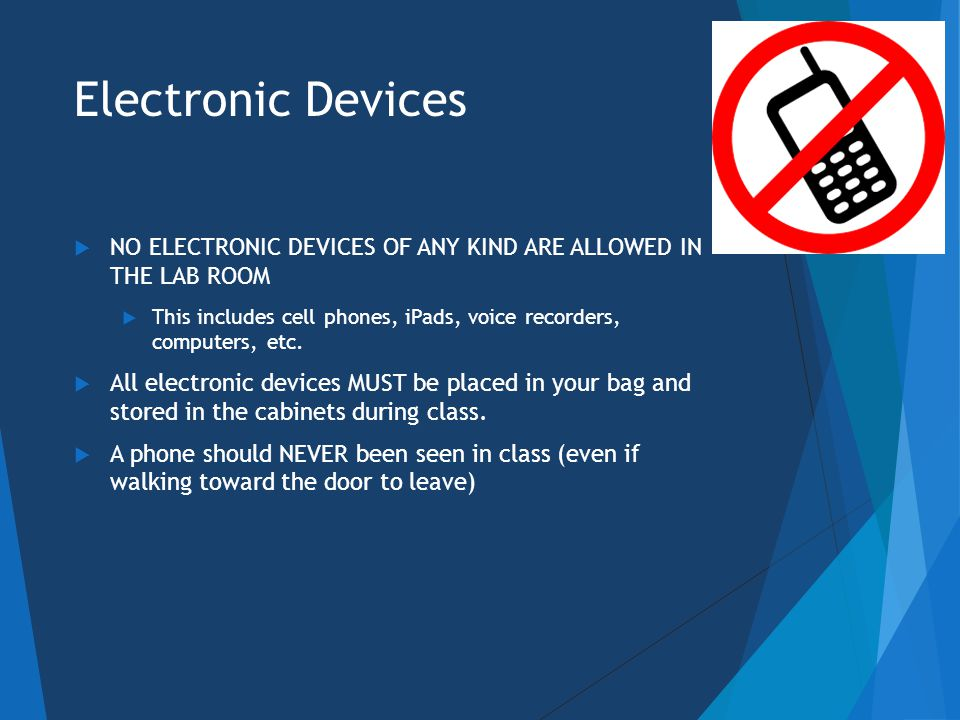 Electronic Device WARNING  This is your WARNING  ANY violation of the Electronic Device Policy will result in  Dismissal from class for the day and an F on all assignments for the day  A BIT form will be filed with Behavioral Intervention Team and the Dean of Student Contact