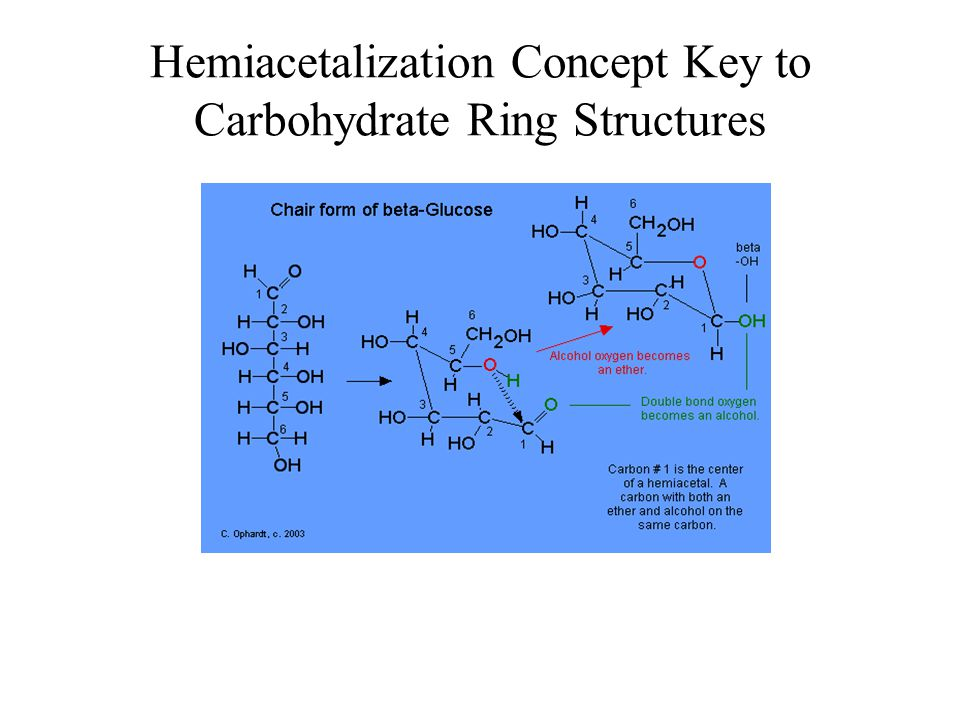 Hemiacetalization Concept Key to Carbohydrate Ring Structures