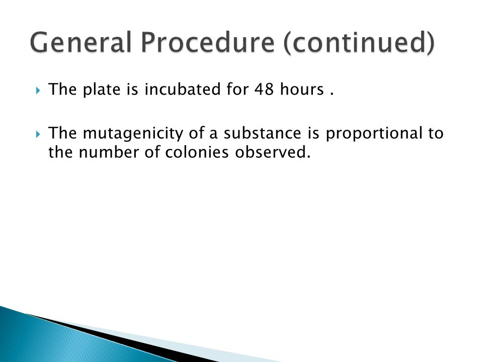  The plate is incubated for 48 hours.