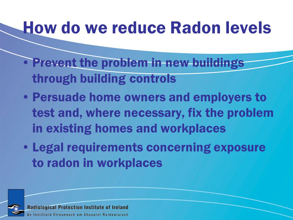 Home Workplace Where does exposure to Radon gas occur Per Caput Exposure to radon