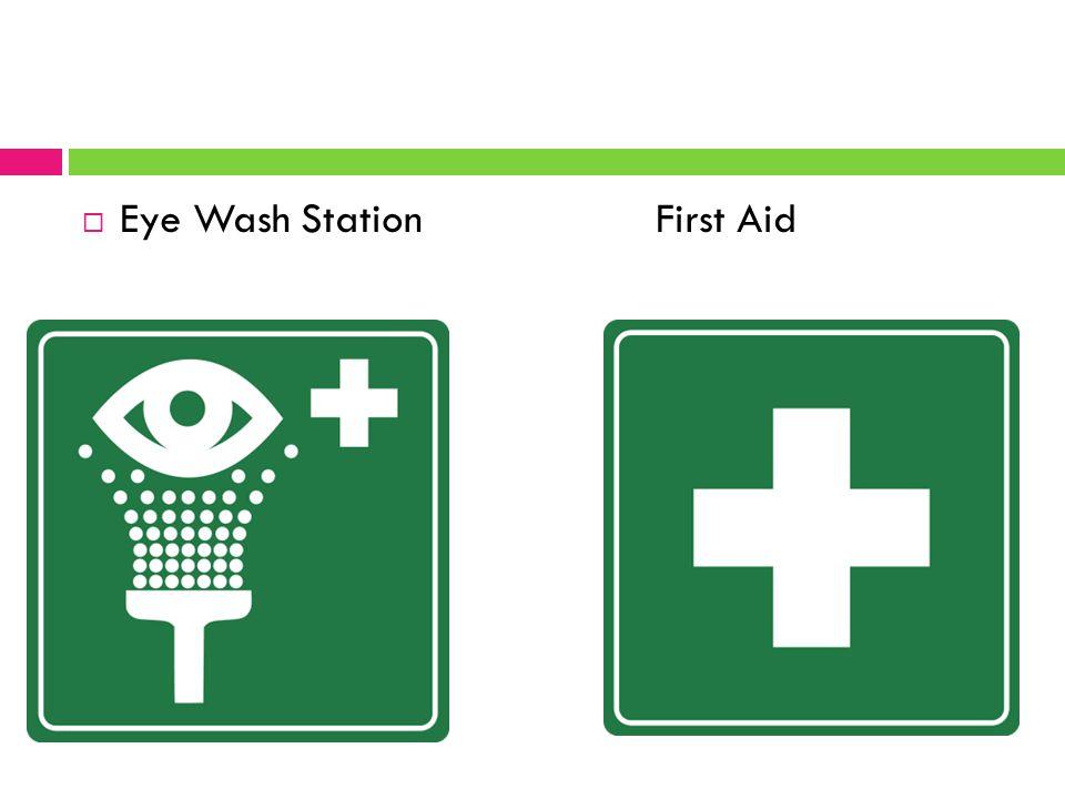  Eye Wash Station First Aid